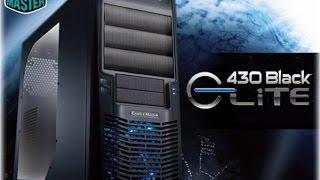 Unboxing- Case  Elite 430 Black- Cooler Master (senza prova)