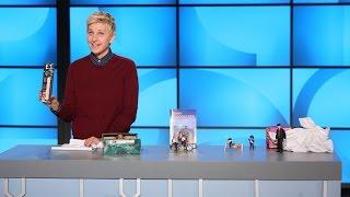 Ellen Found Some Interesting Toys