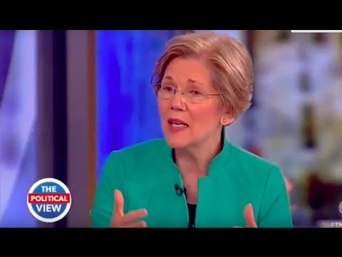Sen. Elizabeth Warren Talks Relations With North Korea China; Protecting Middle Class The View