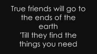 Hannah Montana - True Friend + Lyrics