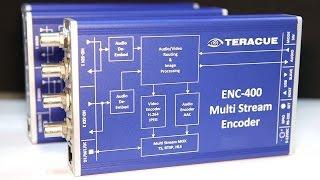 IBC2016: Teracue ENC-400 Multistream Encoder