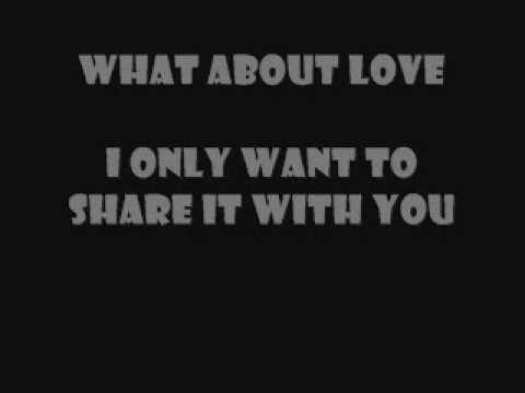 HEART - ALL I WANNA DO IS MAKE LOVE TO YOU LYRICS
