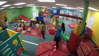 Allisons 1st Birthday party at My Gym