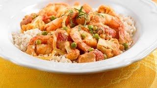 Shrimp & Cauliflower Curry   Get Enough