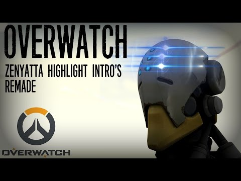 [SFM/Overwatch/Short] - Zenyatta Highlight Intro Recreations -