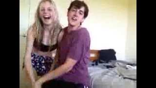 Epic sister brother dance