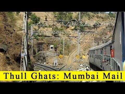 MANMAD TO KASARA: Daylight Run Of 12810 HOWRAH MUMBAI MAIL In Thull Ghats - INDIAN RAILWAYS