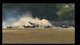 Indycar 2018: Portland Grand Prix 1st Lap Crash