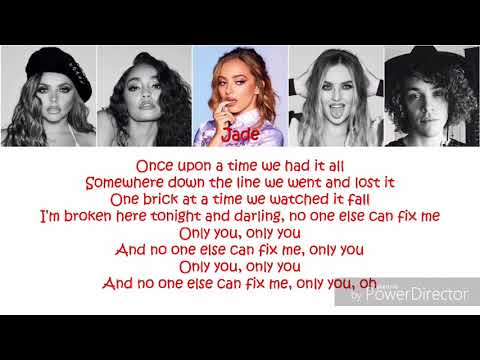 Cheat Codes & Little Mix - Only You (Lyrics + Picture + Color Coded)