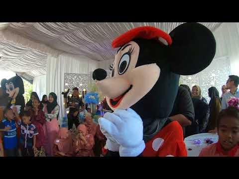 Kenduri Paling MERIAH abad ini!!! siap ada mickey mouse lagi.. orang KEDAH memang SEMPOI BAQ HANG..