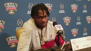 Alabama DB Ronnie Harrison says he watched last year