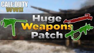 Huge CoD WW2 Patch! (FG 42 Buffed, Grease Gun, KAR98K, & More)