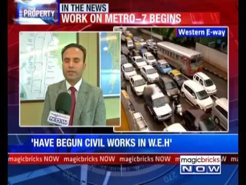 MMRDA begins work for Mumbai Metro 7, expect traffic at WEH - Property News