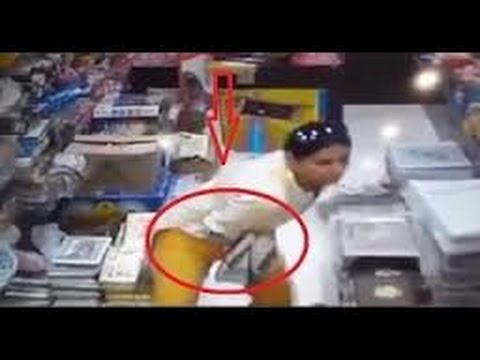 Xxx Mp4 Shocking Video Of Women Stealing From All Over The World CCTV Footage 1 3gp Sex