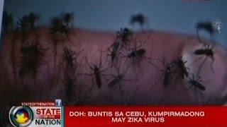 SONA: DOH: Buntis sa Cebu, kumpirmadong may Zika virus