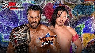 WWE 2K17 - SUMMER SLAM 2017: Shinsuke Nakamura vs Jinder Mahal