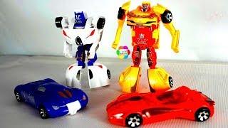 لعبة سيارات المتحولون ترانسفورمرز الانسان الالى للاطفال اجمل العاب تحويل السيارات للبنات والاولاد