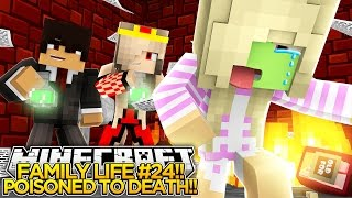 FAMILY LIFE #24 - BABY LEAH IS POISONED!!! - Little Donny Minecraft Roleplay!
