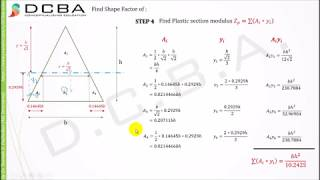 Civil engineering / SHAPE FACTOR for Triangle, Diamond and Circle