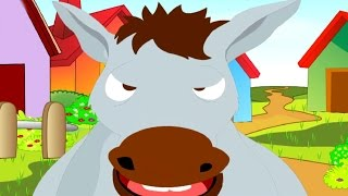 Donkey Donkey Old and Grey Nursery Rhyme - Animated Songs for Children