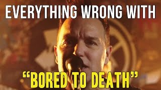 everything wrong with blink 182 and quot bored to death and quot