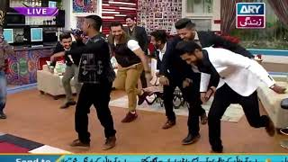 Dance Performance of DhoomBros Boys