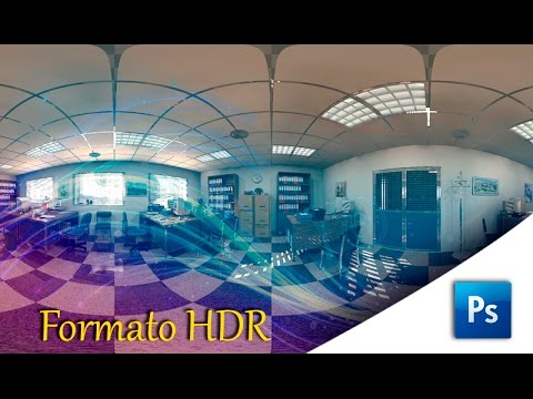 Photoshop,  cambiar formato jpg a hdr
