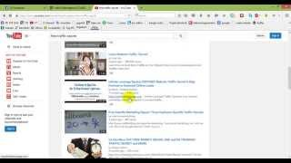 how to find recent videos on your youtube search result