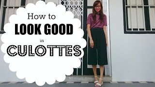 How to Look Good in Culottes | ChicPeek Ep 62
