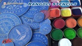How to use Rangoli Stencils   JK Arts 773