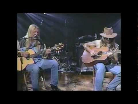 Allman Brothers Blues Band Melissa Acoustic Live Music Gregg & Dickie Betts Video