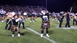 2013 Kilties Drum and Bugle Corps - August 24 - Racine Raiders Halftime
