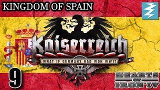 RETAKE THE COLONIES [9] - Spain- Kaiserreich Mod - Hearts of Iron IV HOI4 Paradox