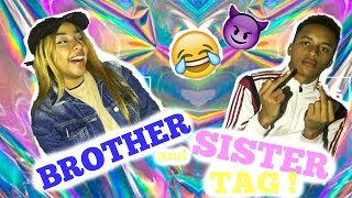 BROTHER AND SISTER TAG | HONEYSHAY