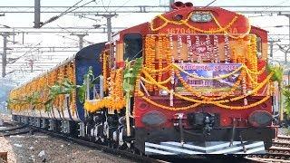 GRAND Inaugural NEW TRAIN Indian Railways   JABALPUR EXPRESS