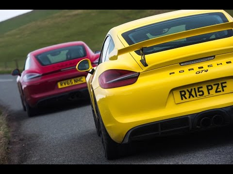 Porsche Cayman GT4 Review: How Much Better Is It Than The GTS?