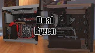 Let's Play PC Building Simulator EP166 Dual ryzen