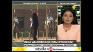 India welcomes German President on a 5 day India visit