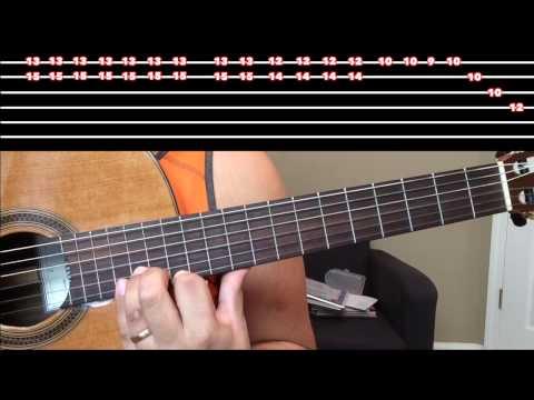 Como Tocar Guitarra Odiame w TAB
