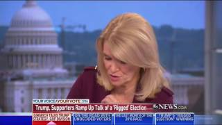 10/16/16 Newt Gingrich exposes ABC News Martha Raddatz  and THE MEDIA CABAL