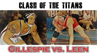 RECE Barnburners: Gregor Gillespie (Edinboro) vs. Jordan Leen (Cornell)