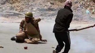 Indian Army man attacked by mob in Kashmir- Oneindia Kannada