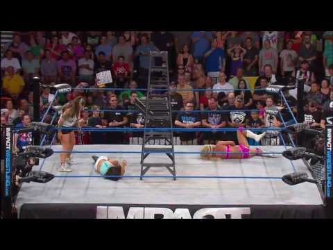 Knockouts Ladder Match: Gail Kim and Taryn Terrell - July 11, 2013