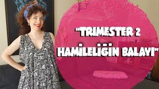 TRIMESTER 2 (İKİNCİ ÜÇ AY) - HAMİLELİĞİN BALAYI