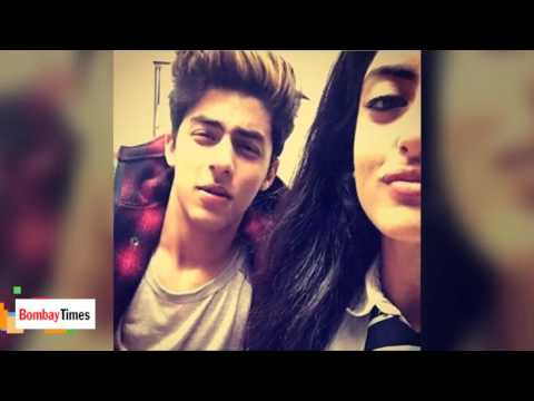 Shahrukh Khan's Son Aryan Spotted With Amitabh Bachchan's Granddaughter Navya