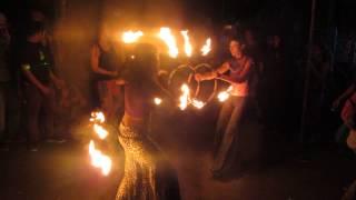 Fire dance @ Parvati Peaking