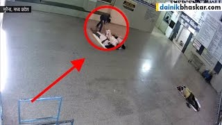 Patient Stealing Mobiles from Other Patient at Hospital | Caught on Camera