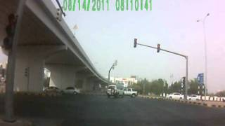 Going through red signal