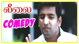 Leelai Tamil Movie | Comedy Scenes | Santhanam and Easter Comedy | Santhanam |  Shiv Pandit | Manasi