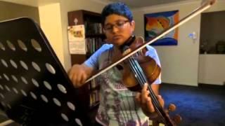 Viva la Vida - violin by Achintya